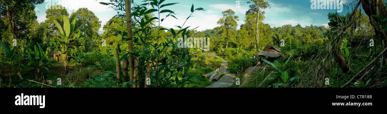 Madobag, Mentawai Indonesia - Stock Image