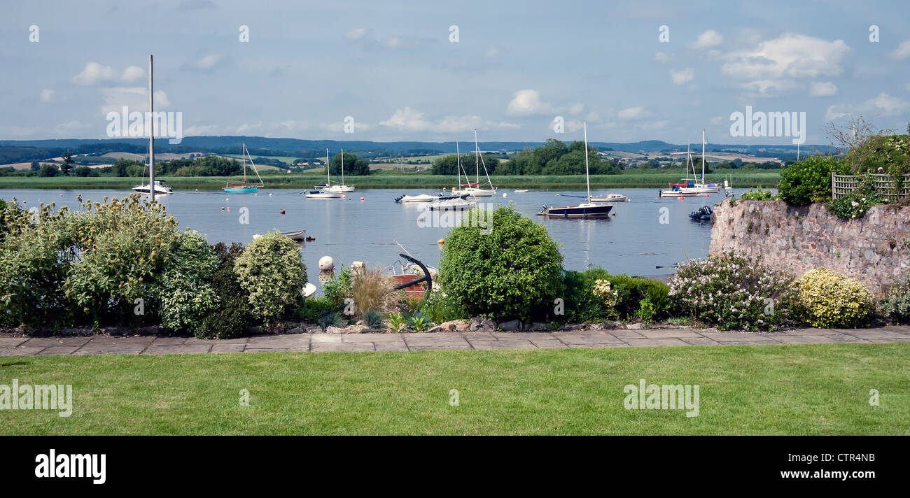 River Exe, Topsham, South Devon, England, UK. - Stock Image