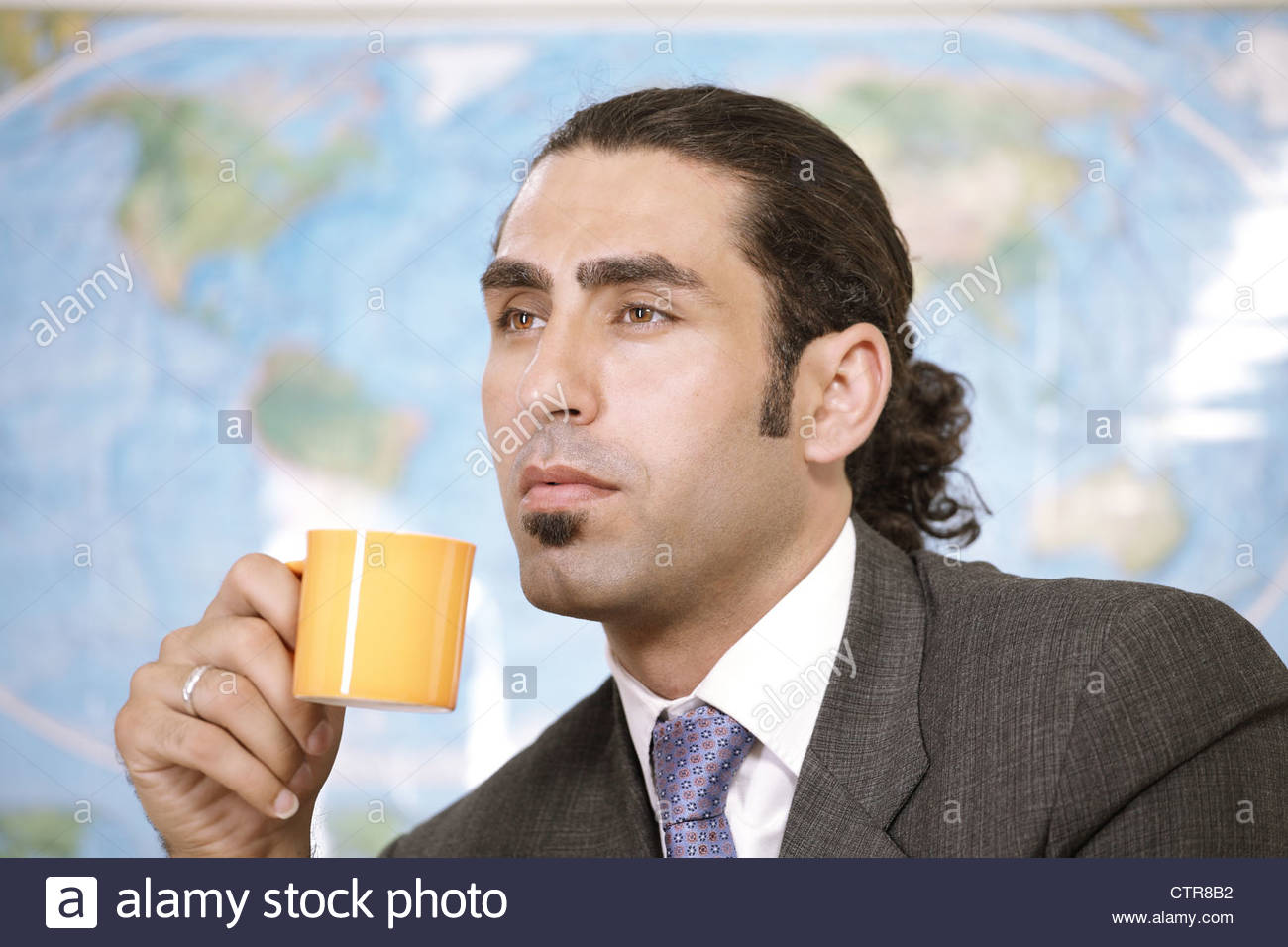 Business think - Stock Image