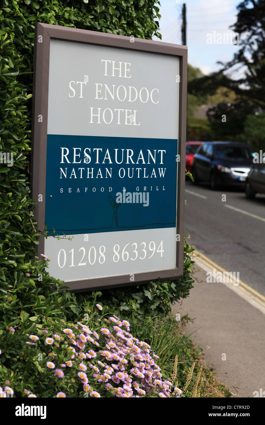 Nathan Outlaw St Enodoc Hotel