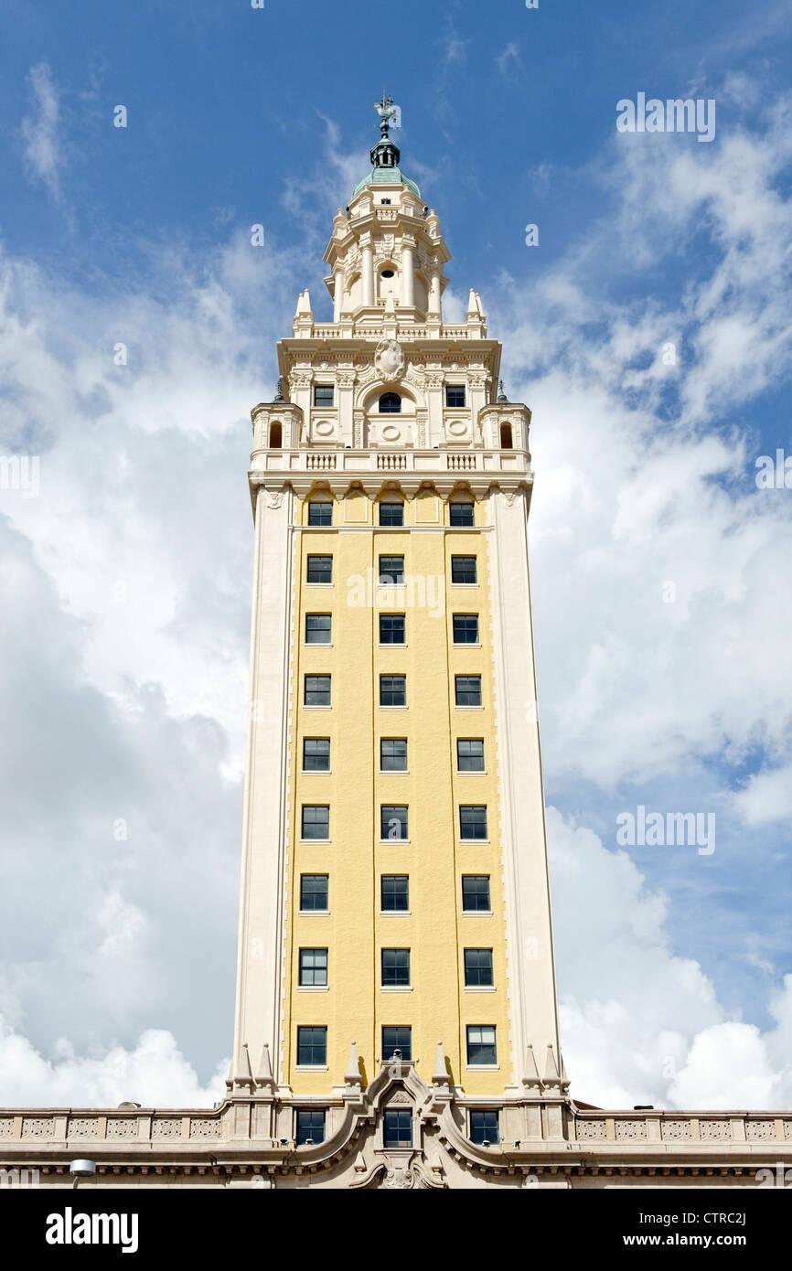 MDC Miami Dade County Freedom Tower, Miami, Florida, USA - Stock Image