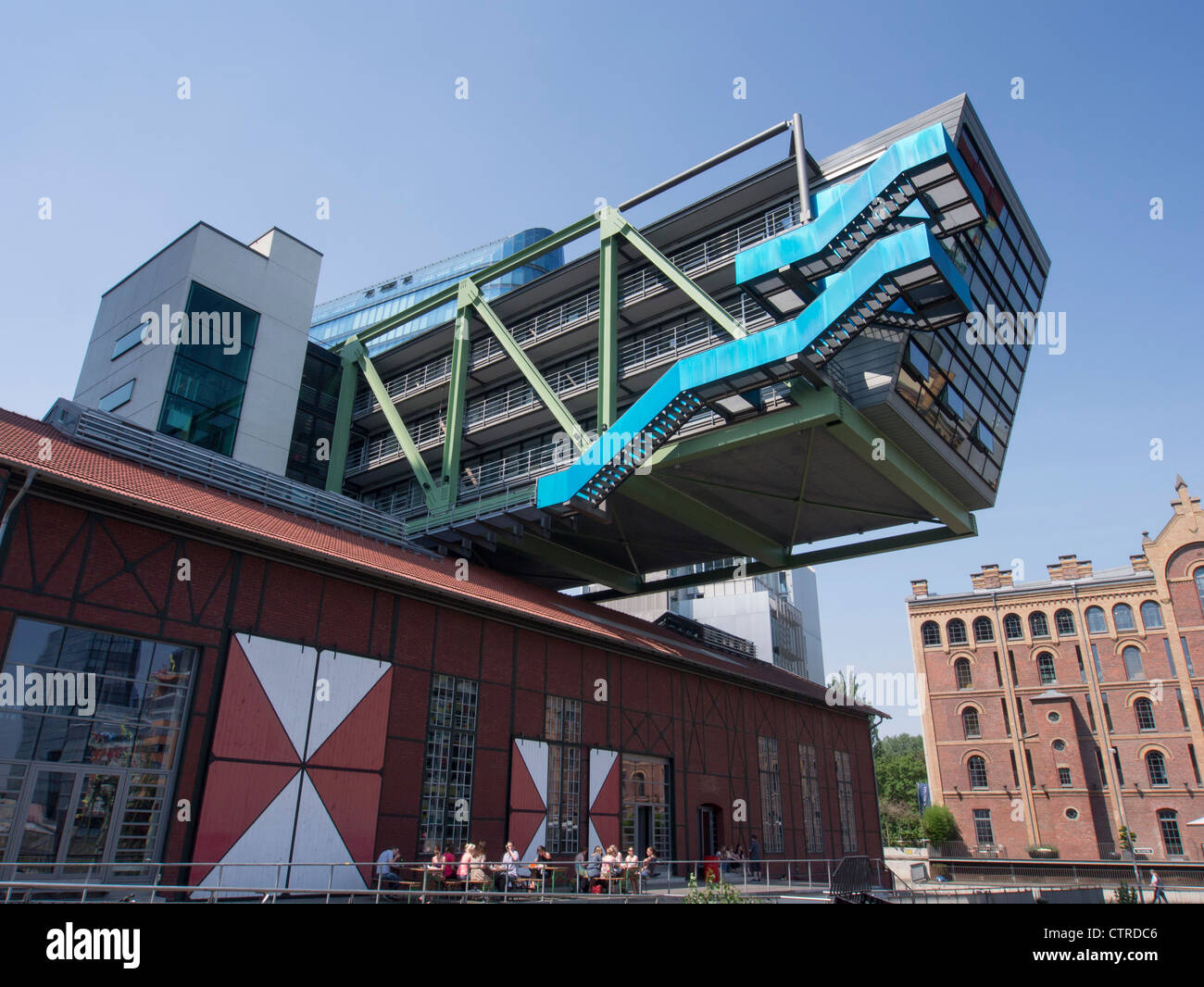ogilvy new york office. Modern Architecture Of Ogilvy Advertising Agency Headquarters At Medienhafen Or Media Harbour In Dusseldorf Germany - New York Office
