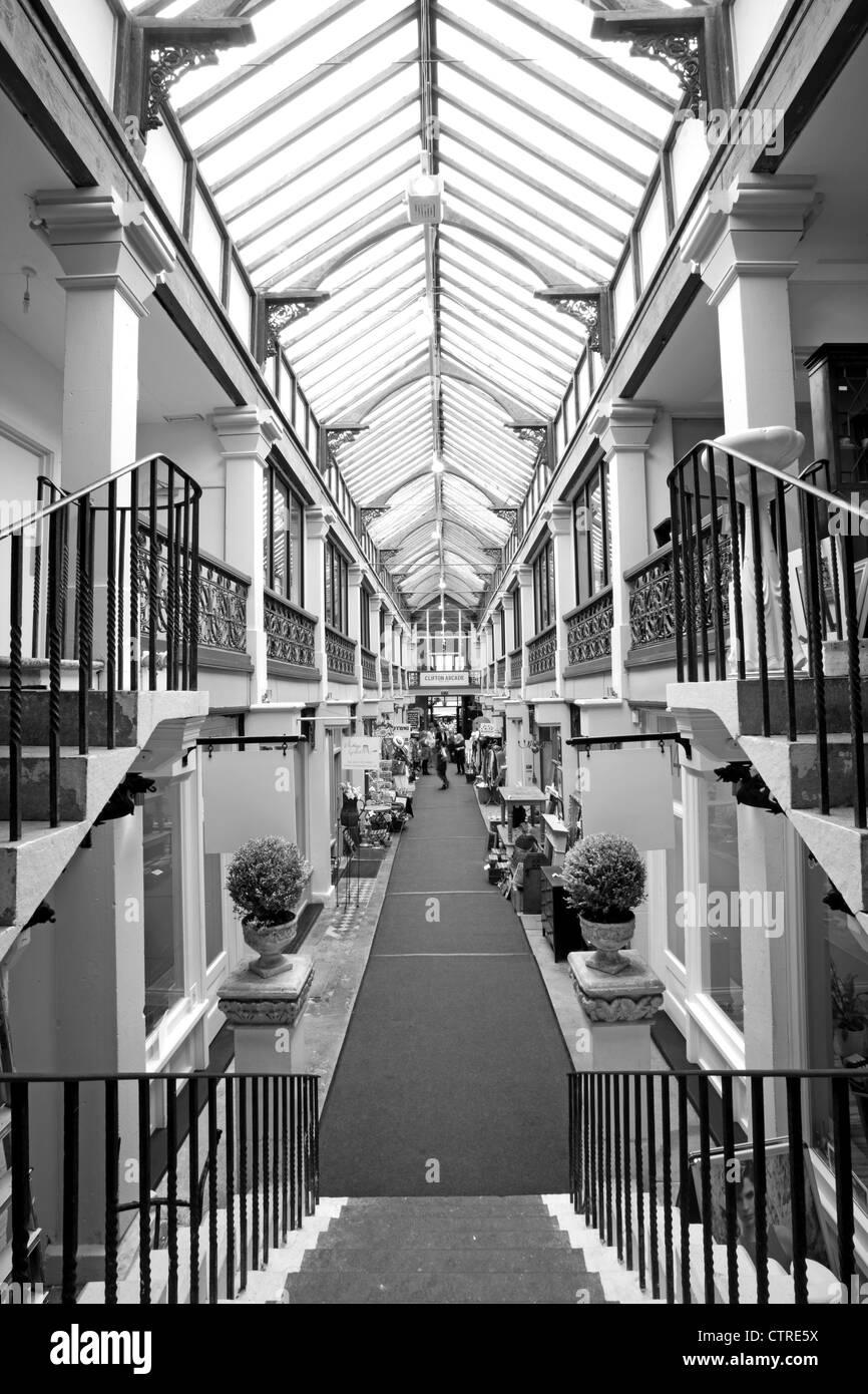 Clifton Arcade Bristol - Stock Image