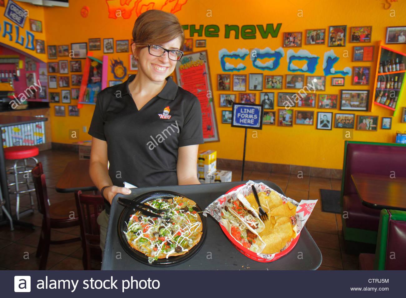Naples Florida Tijuana Flats Tex Mex Food Restaurant Interior Decor