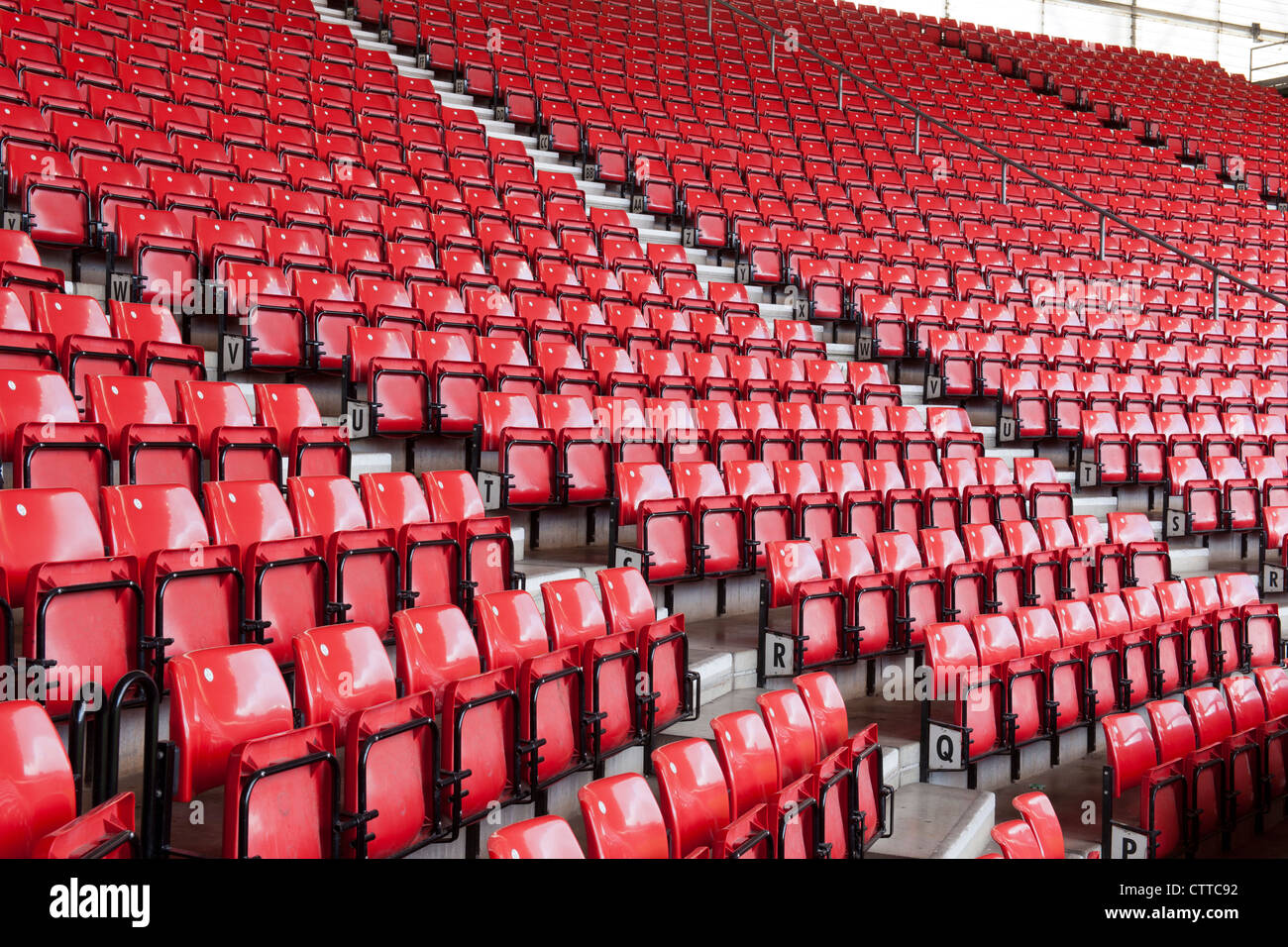 Friends Provident St Mary's Football Stadium, home of Southampton Football Club, At Mary's, Southampton, - Stock Image