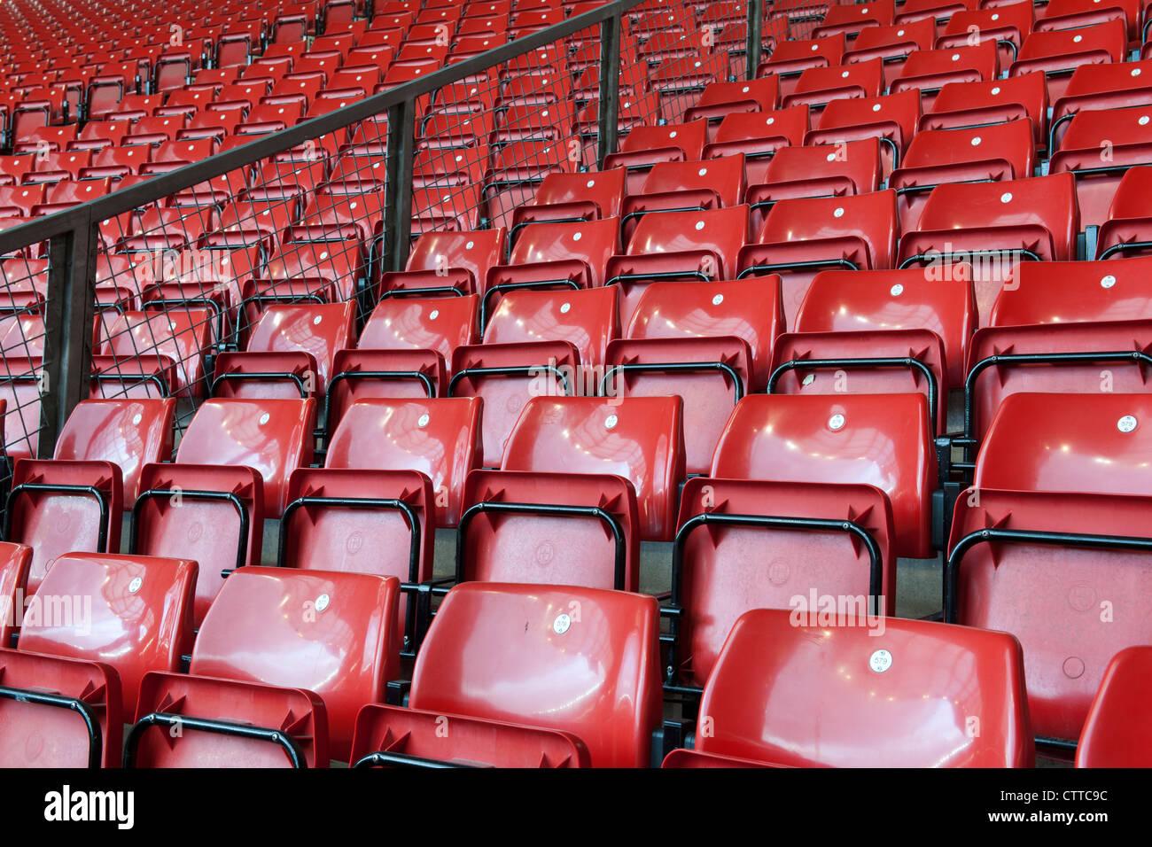 Friends Provident St Mary's Football Stadium, home of Southampton Football Club, At Mary's, Southampton, - Stock Image