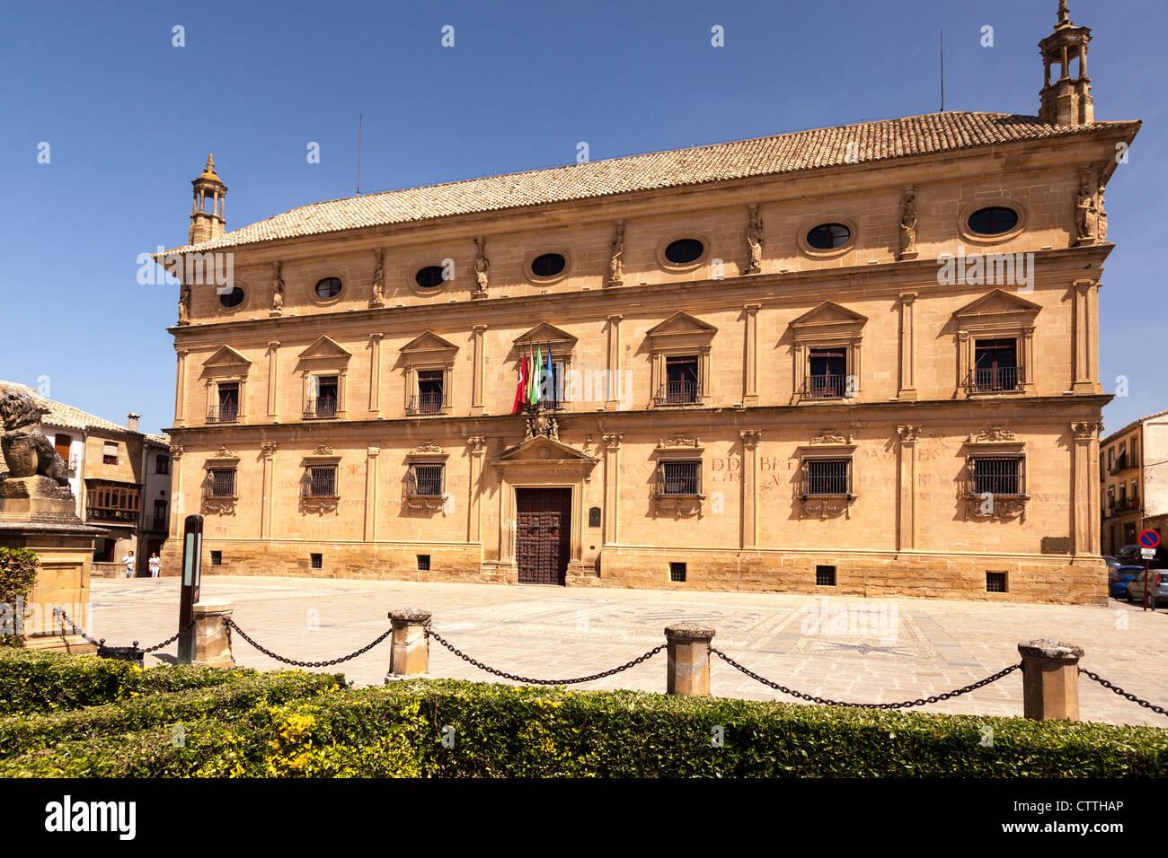 Palacio Vázquez de Molina, Úbeda, Jaén, Andalusia, Spain. Europe. - Stock Image
