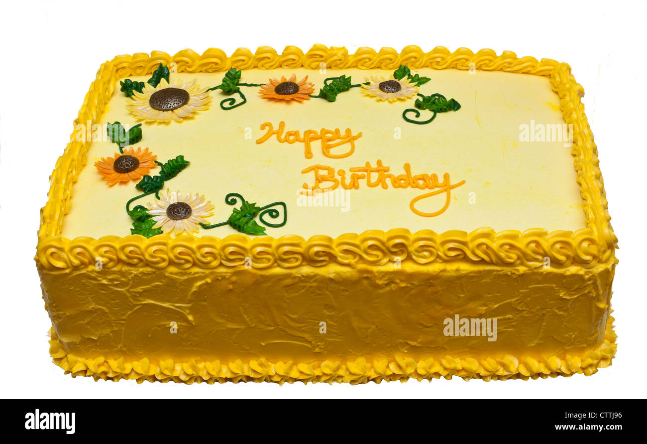 Incredible Rectangle Birthday Cake Stock Photos Rectangle Birthday Cake Personalised Birthday Cards Veneteletsinfo