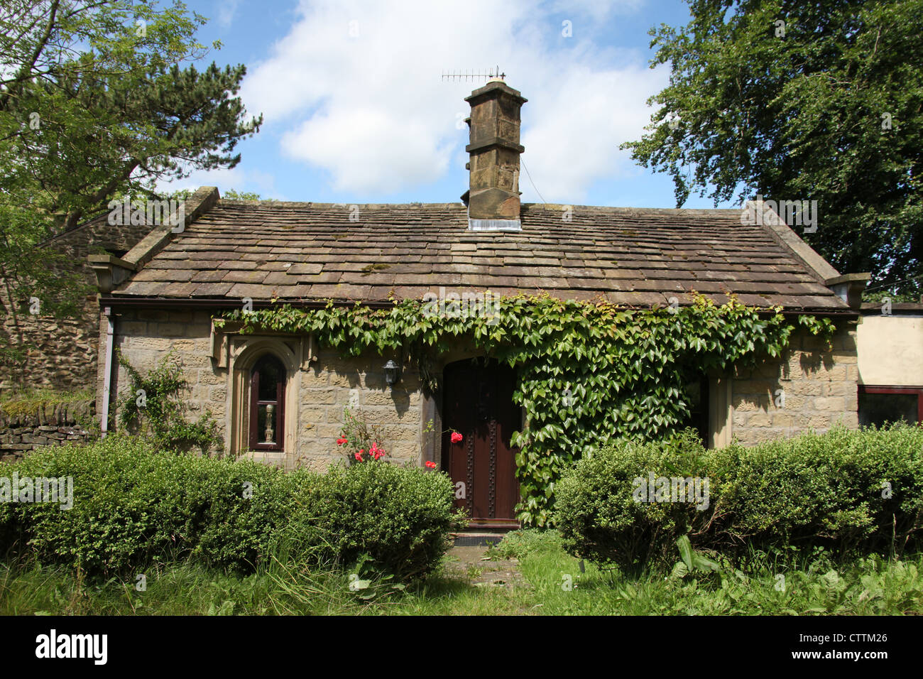 Former Toll Cottage at Chapel-en-le-Frith dating back to 1811. - Stock Image