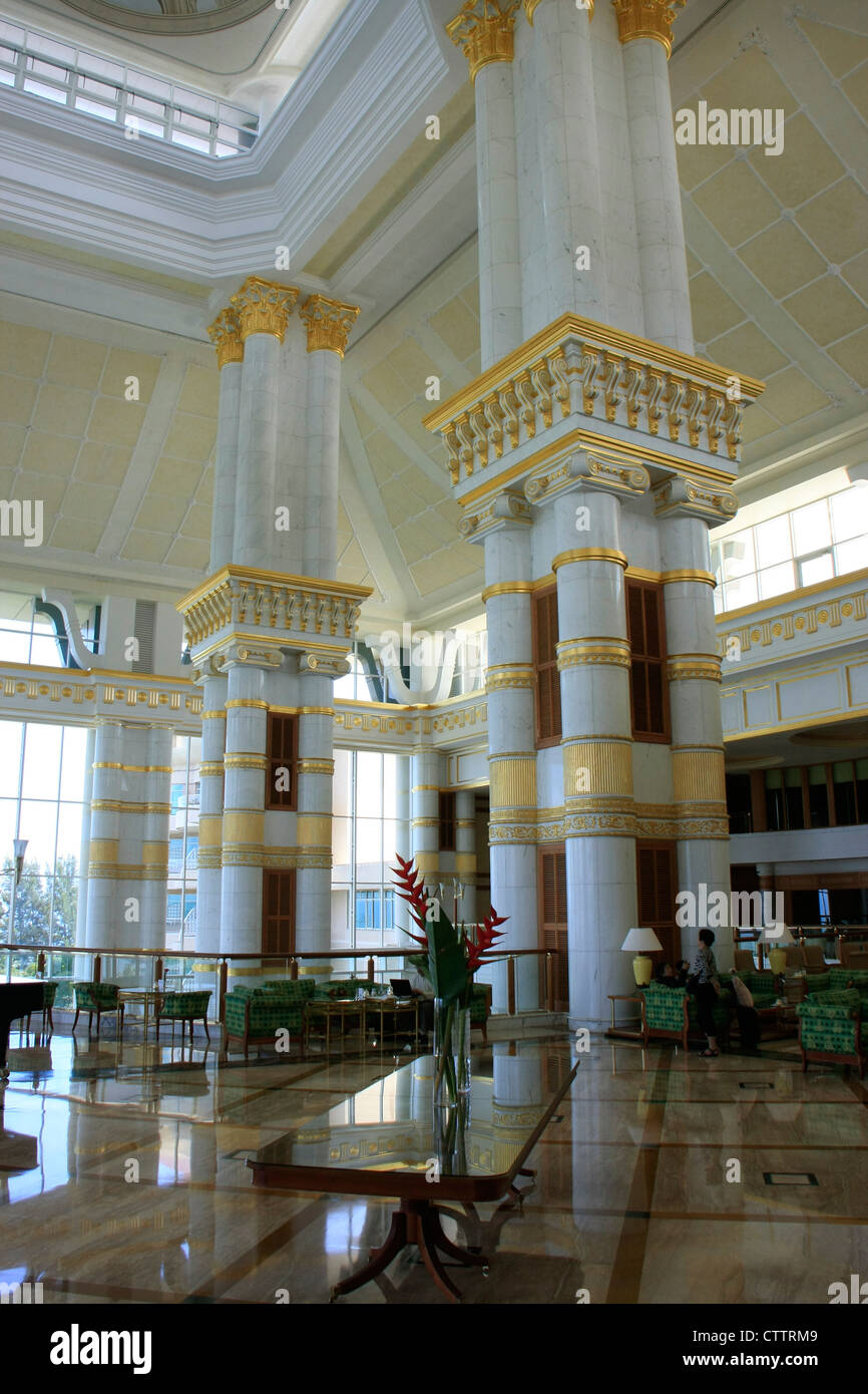 Interior of Empire Hotel and Country club, Brunei, Southeast Asia - Stock Image