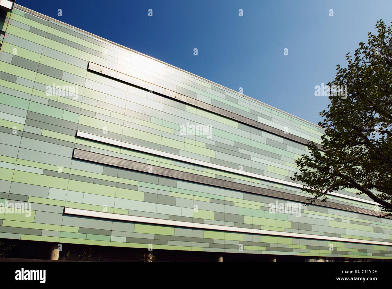 Exterior Cladding Of Westfield Shopping Centre Shepherds