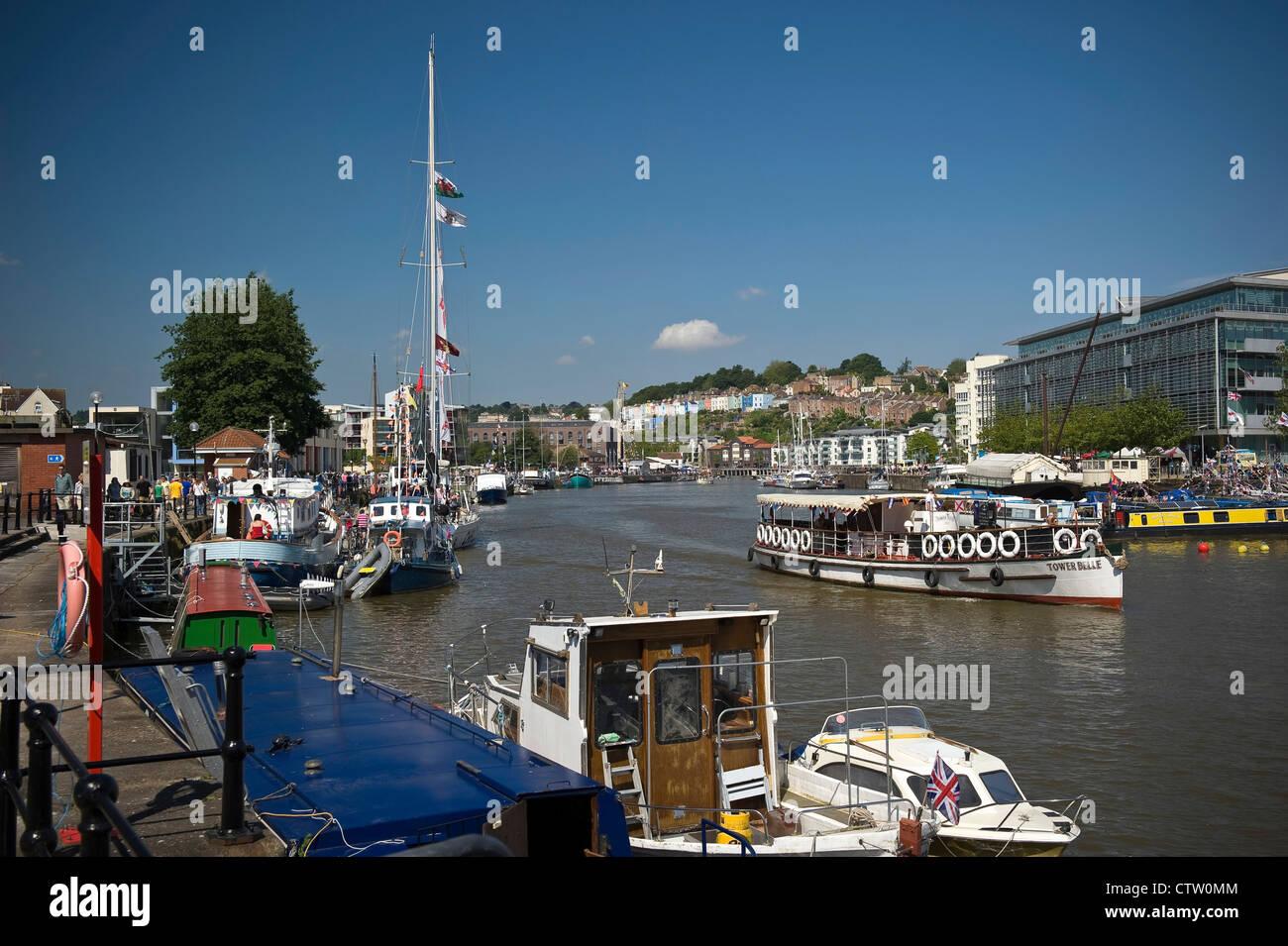Bristol Harbour Festival, Avon, UK - Stock Image