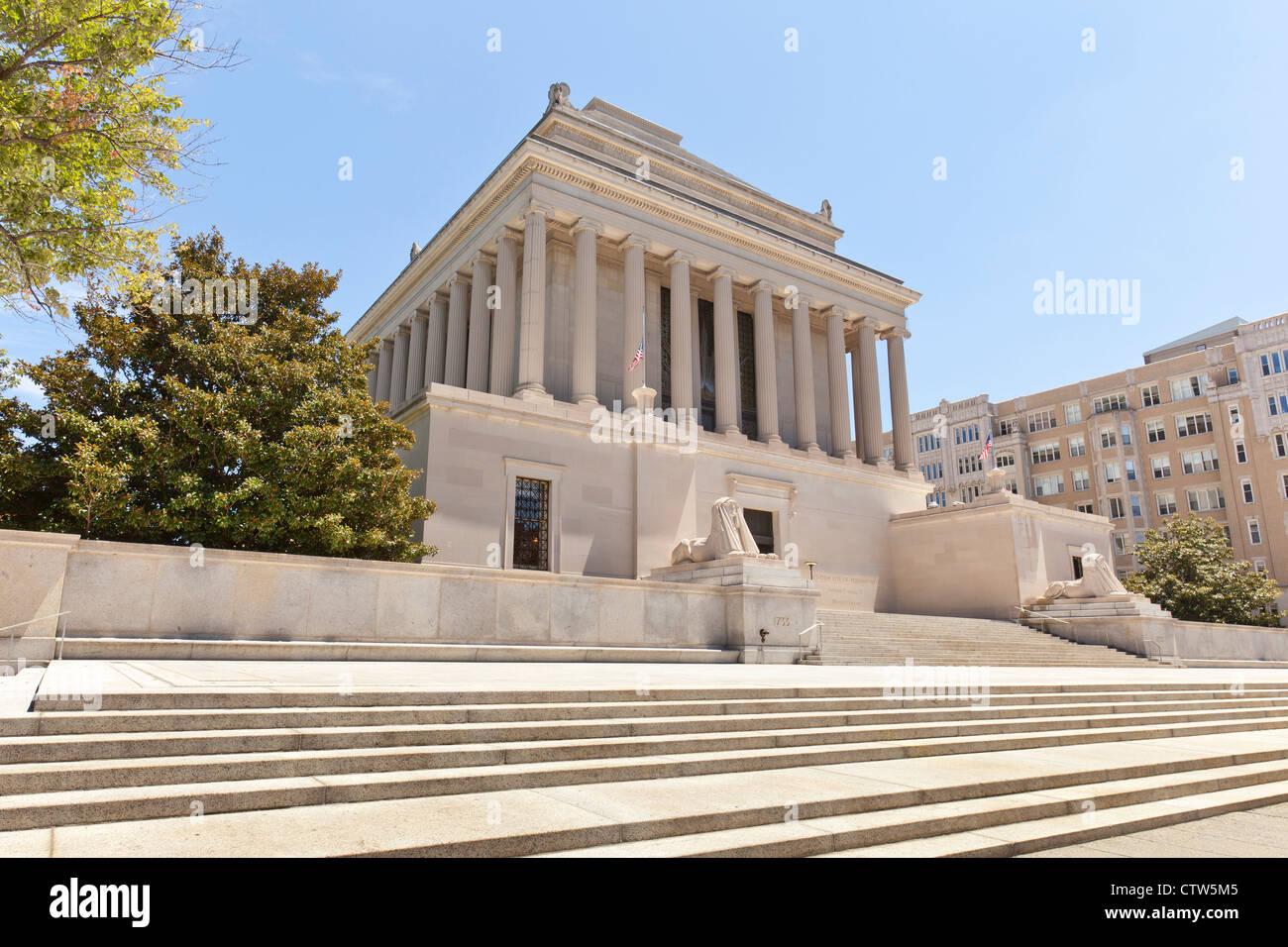 The House of the Temple - Scottish Rite of Freemasonry building, Washington, DC - Stock Image