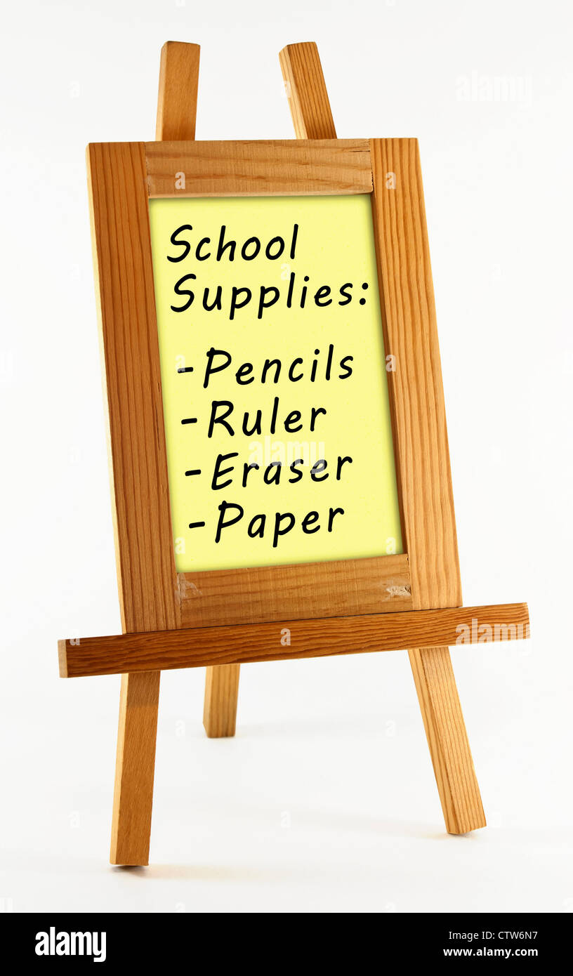 Frame Easel Stock Photos & Frame Easel Stock Images - Alamy