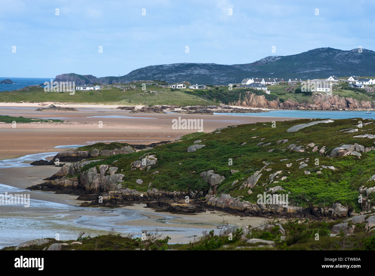 The Rosses Bay, County Donegal, Republic of Ireland. - Stock Image