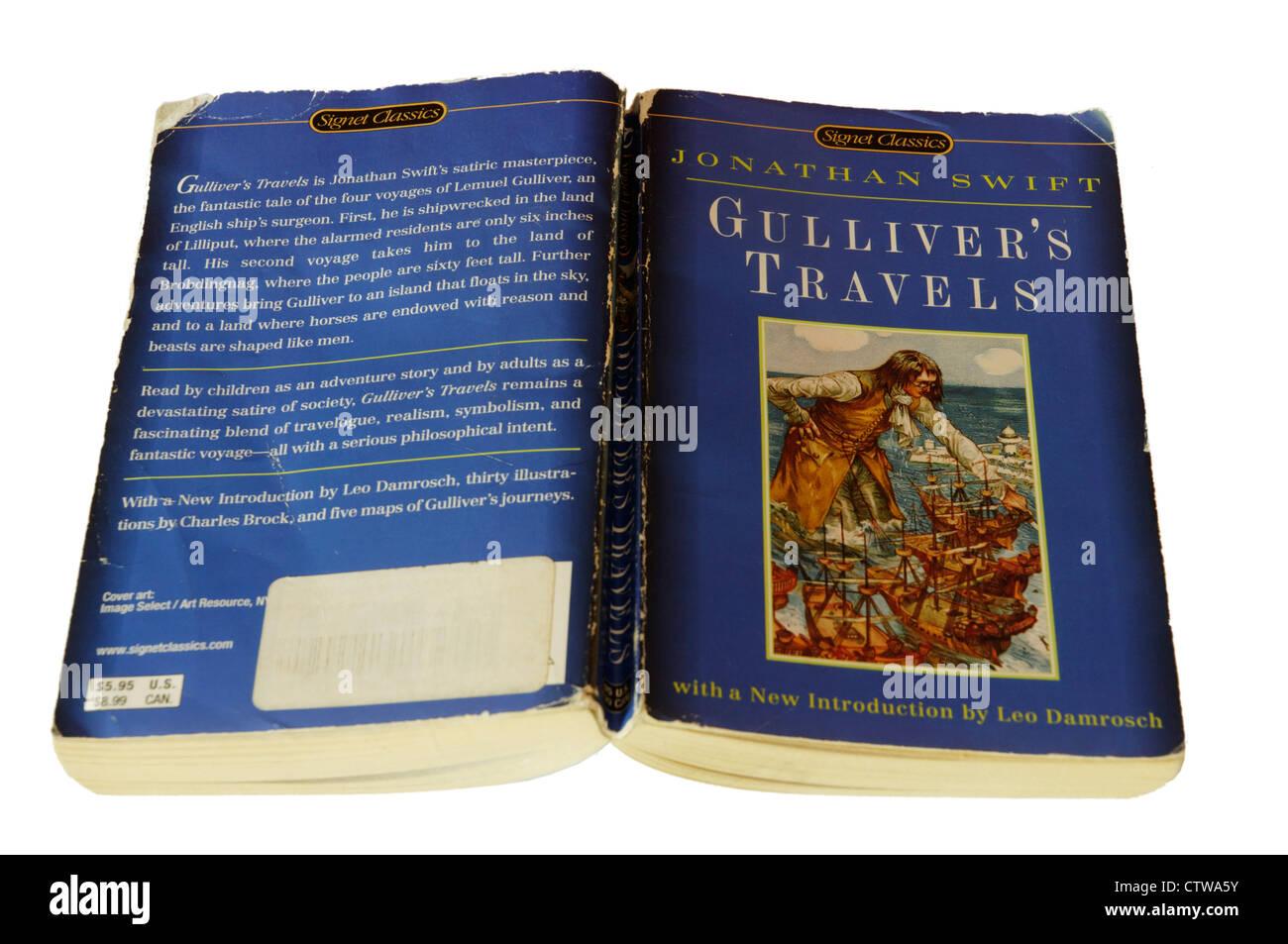 Gullivers Travels by Jonathan Swift - Stock Image