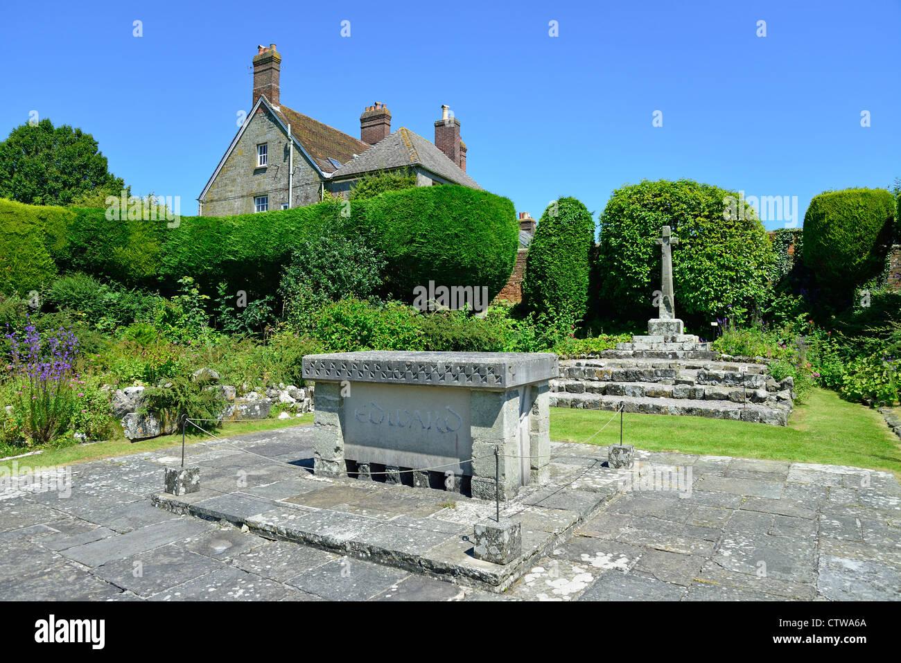 Shaftesbury Abbey Museum & Gardens, Park Walk, Shaftesbury, Dorset, England, United Kingdom Stock Photo
