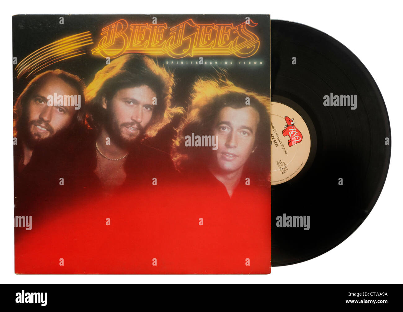 Spirits Having Flown by The Bee Gees - Stock Image