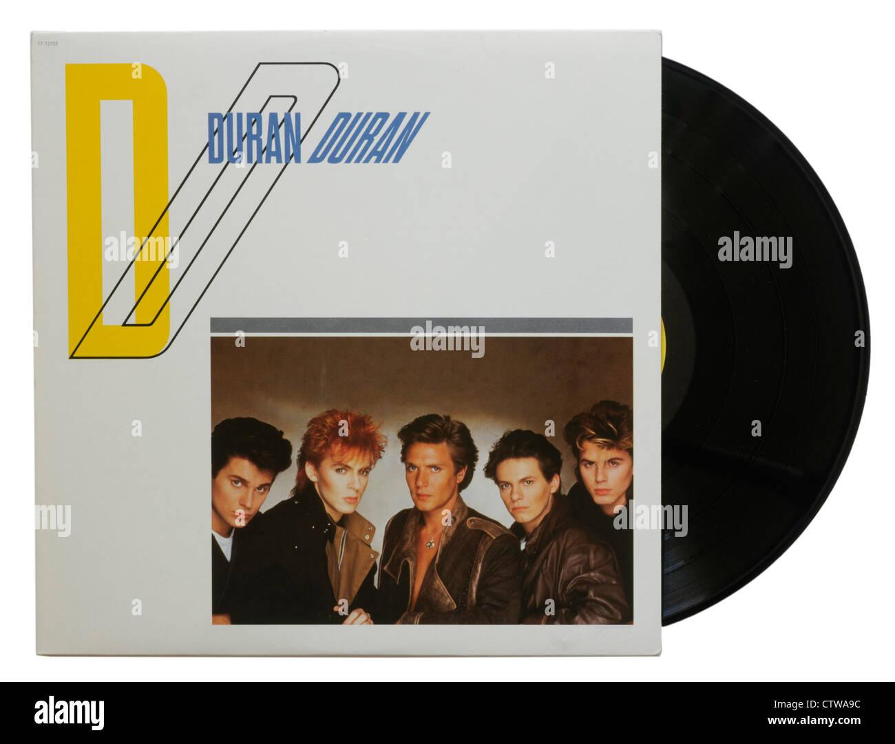 Duran Duran's first album - Stock Image