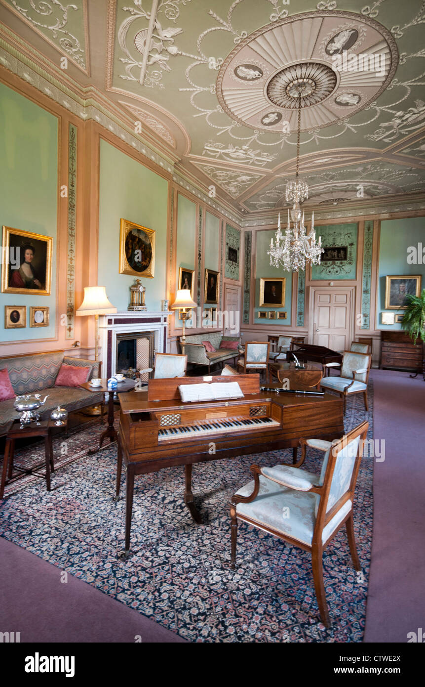 Paxton House, stately home - Stock Image