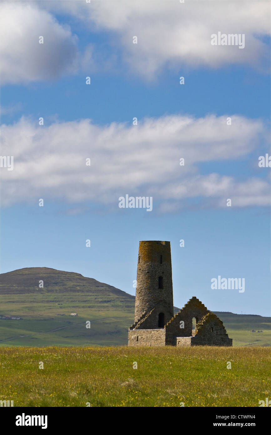 Orkney islands, Egilsay, St Magnus Church - Stock Image