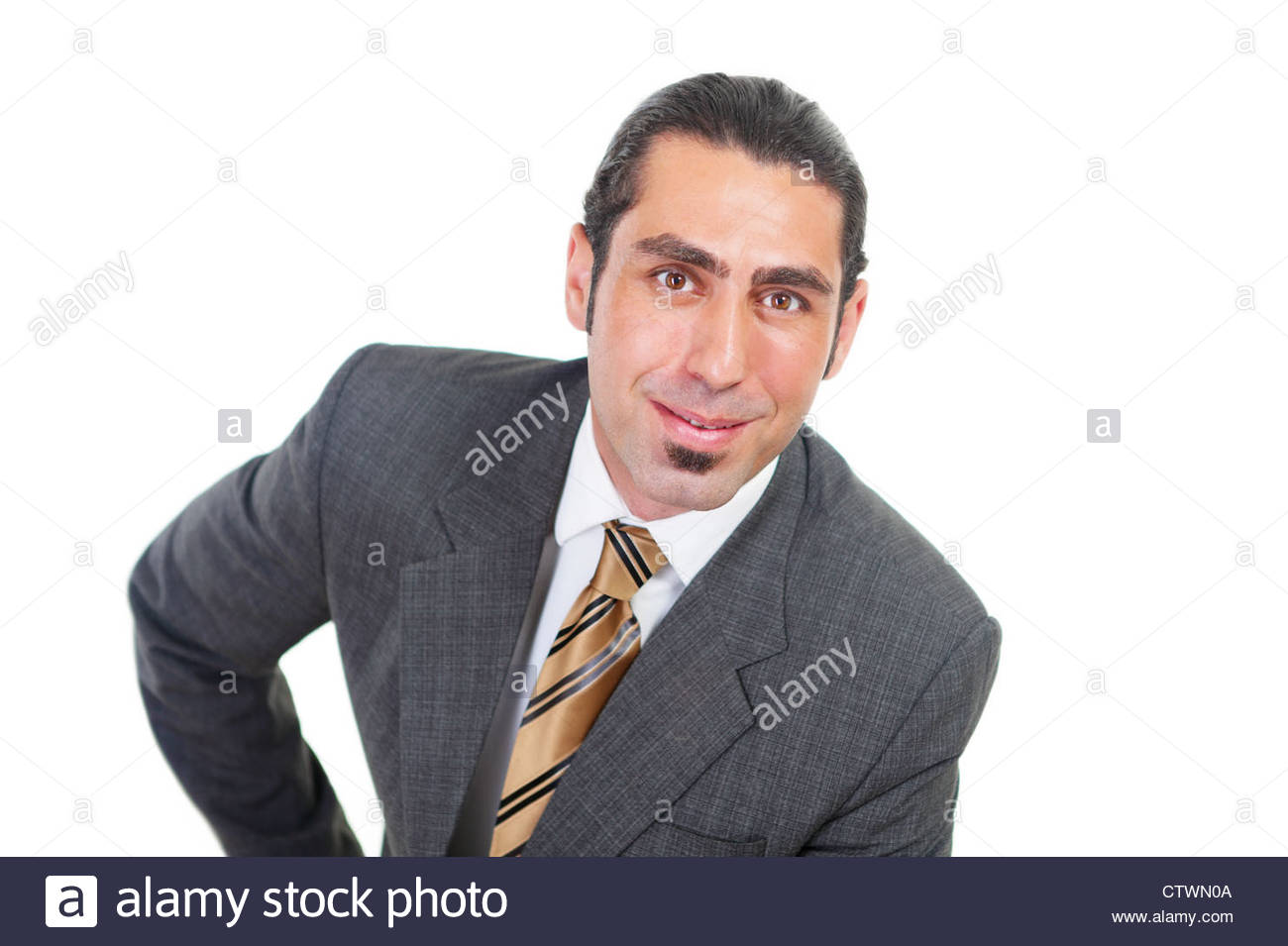 Clever salesman - Stock Image