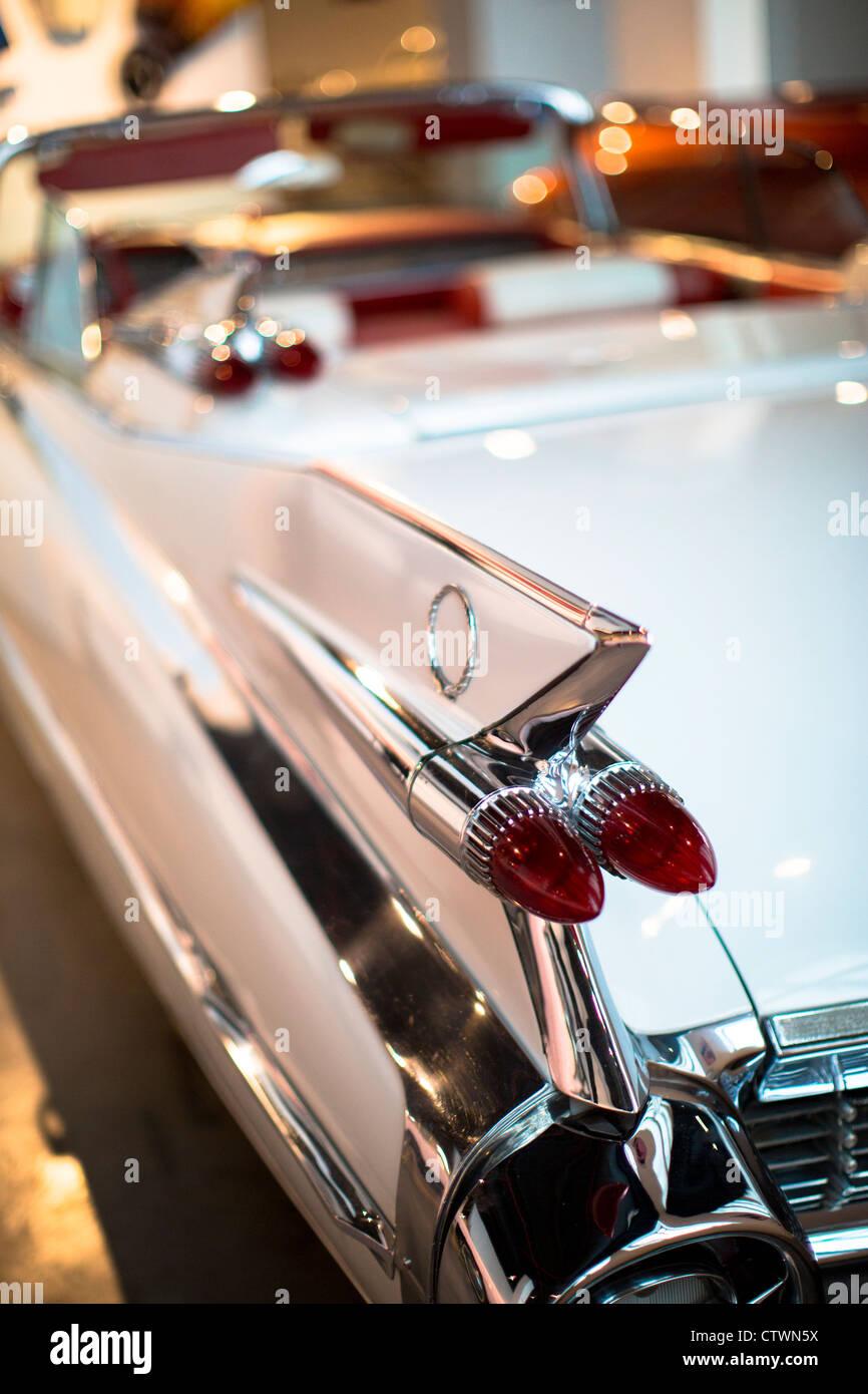 Automobile museum Malaga Spain - Stock Image