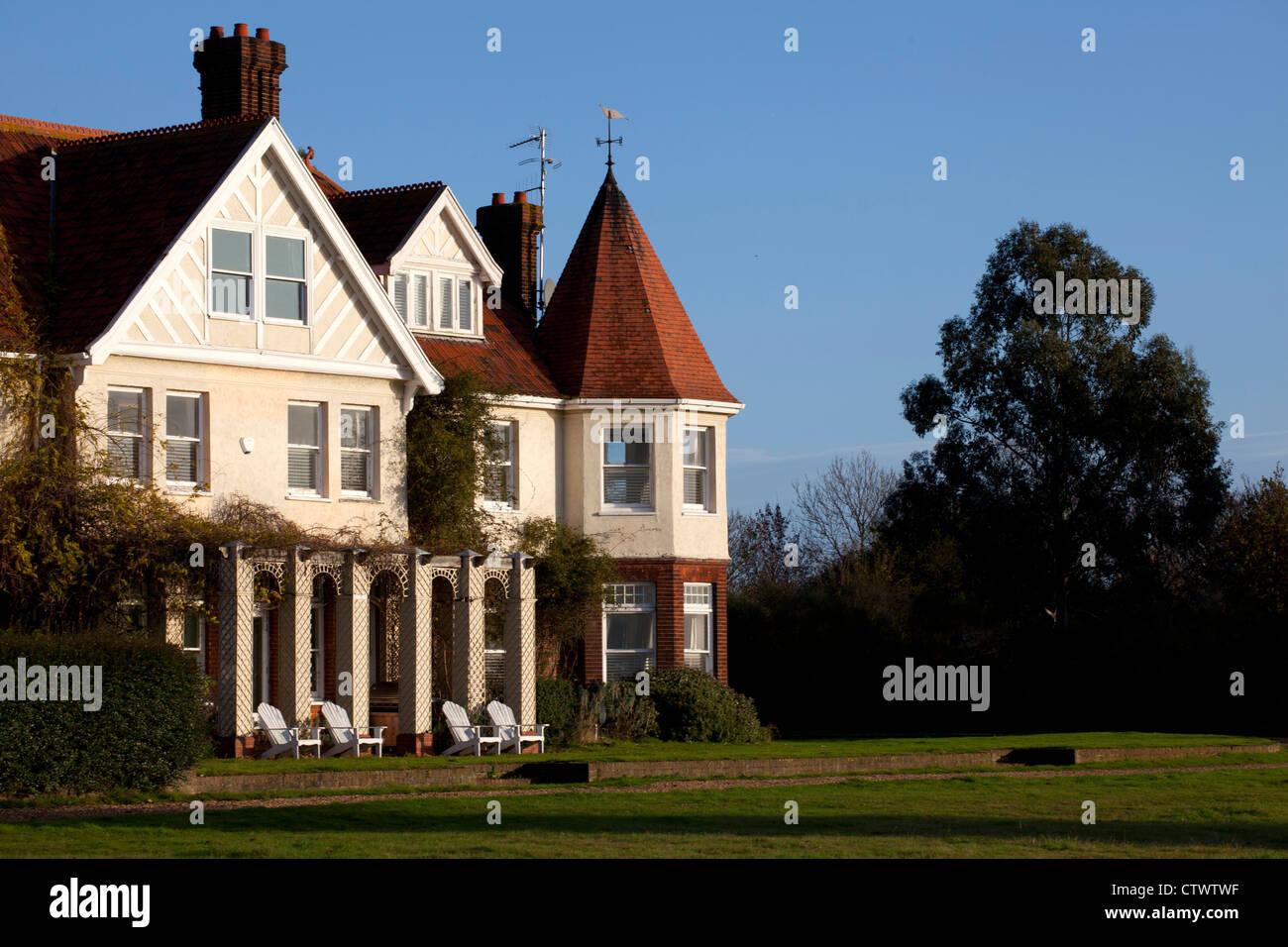 Osea Island, Essex, England, UK - Stock Image