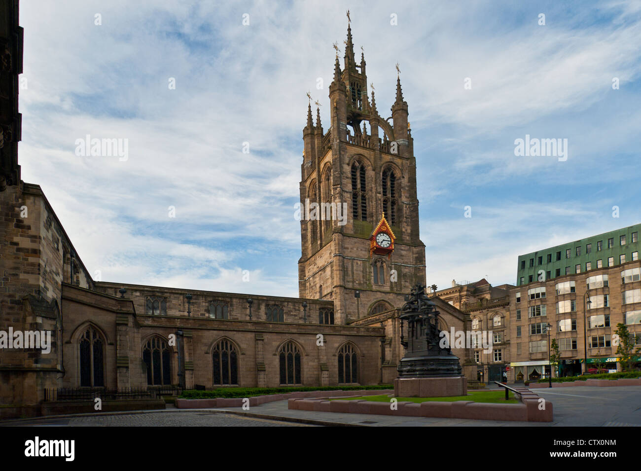 The Cathedral Church of St Nicholas, Newcastle - Stock Image