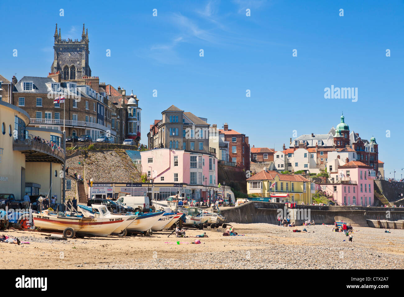 Cromer Norfolk England UK GB EU Europe - Stock Image