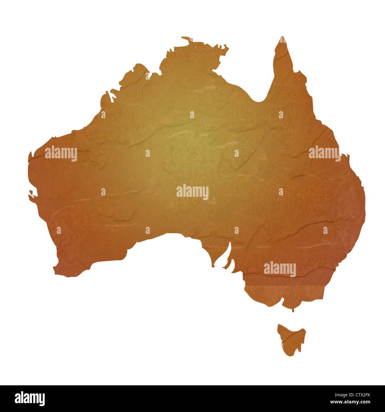 Map Of Australian Landscapes.Vintage Map Australia Stock Photos Vintage Map Australia Stock