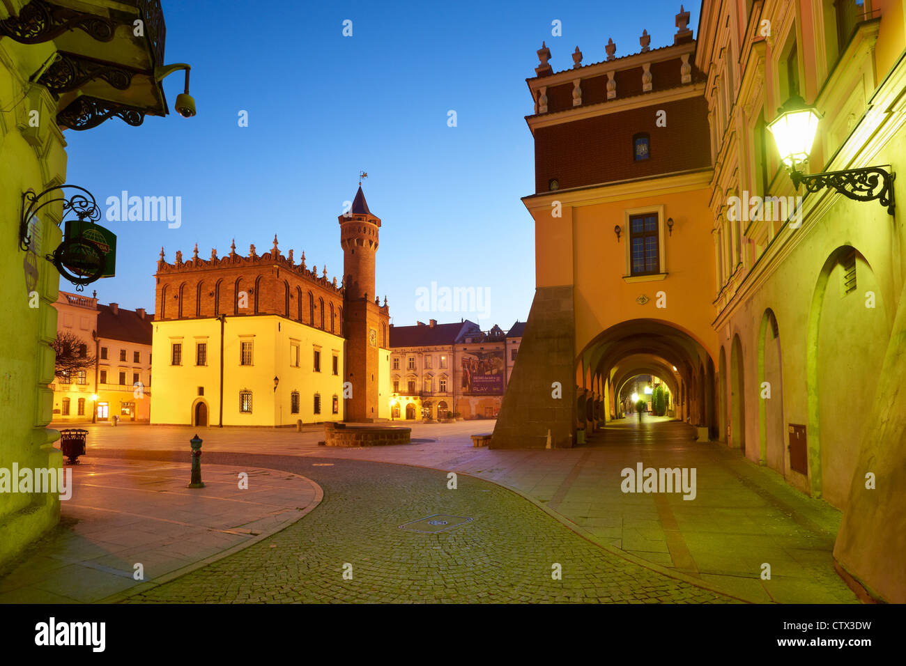 Tarnow, The Old Town, Poland, Europe - Stock Image