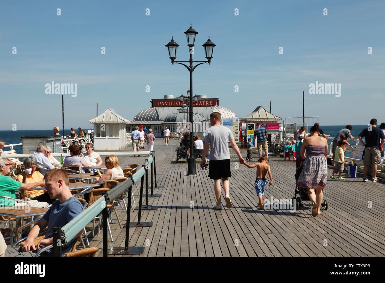 Cromer Pier, Norfolk, England, U.K. - Stock Image