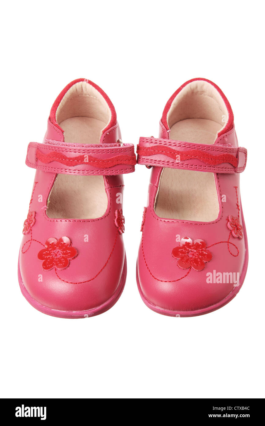 Girls Shoes - Stock Image