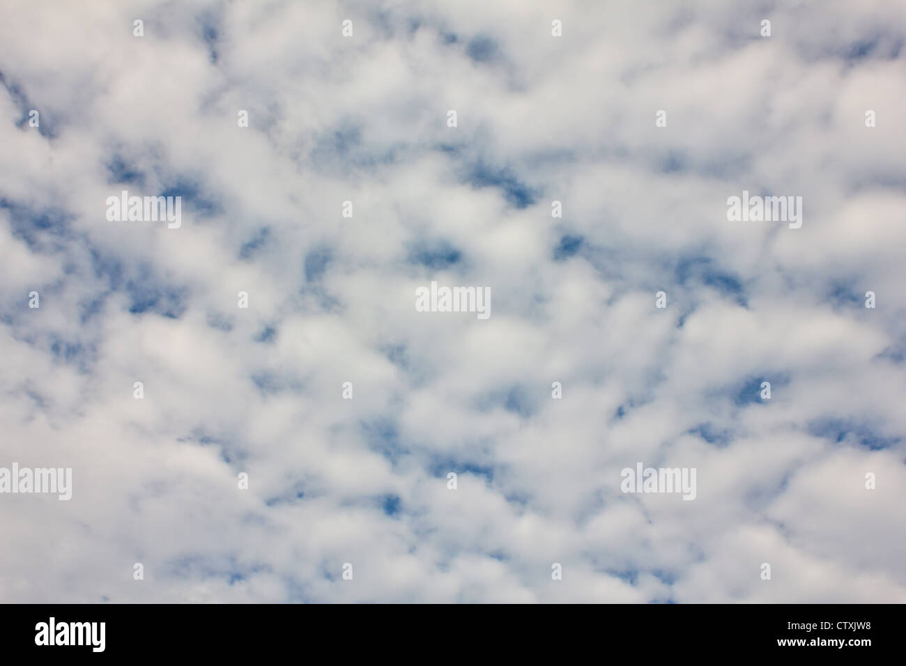 Stock Photo - Cloud on the blue sky texture background. - Stock Image