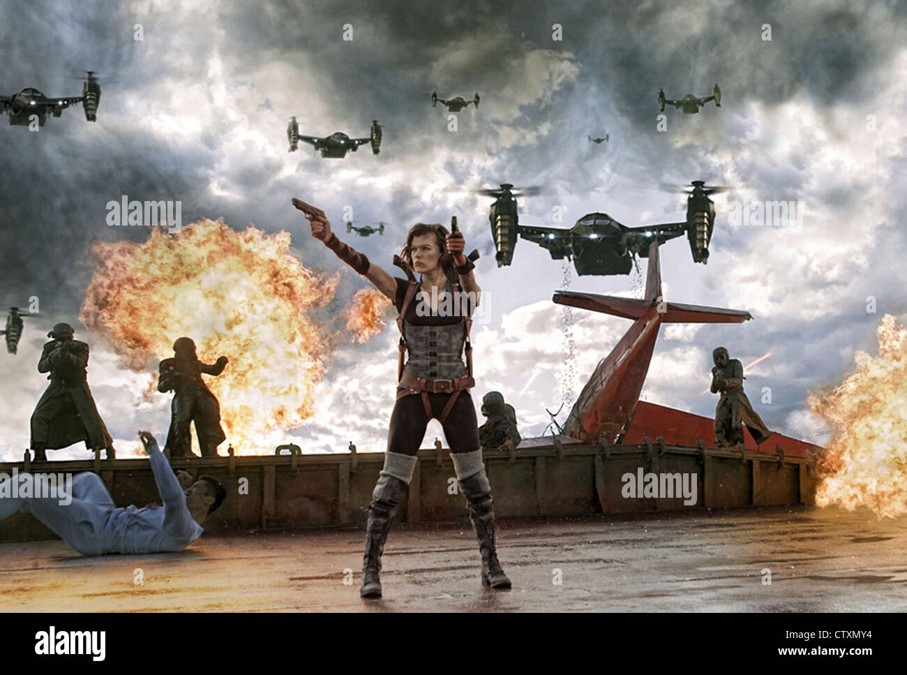 Resident Evil Afterlife 2010 Constantin Film Produktion Film With Stock Photo Alamy