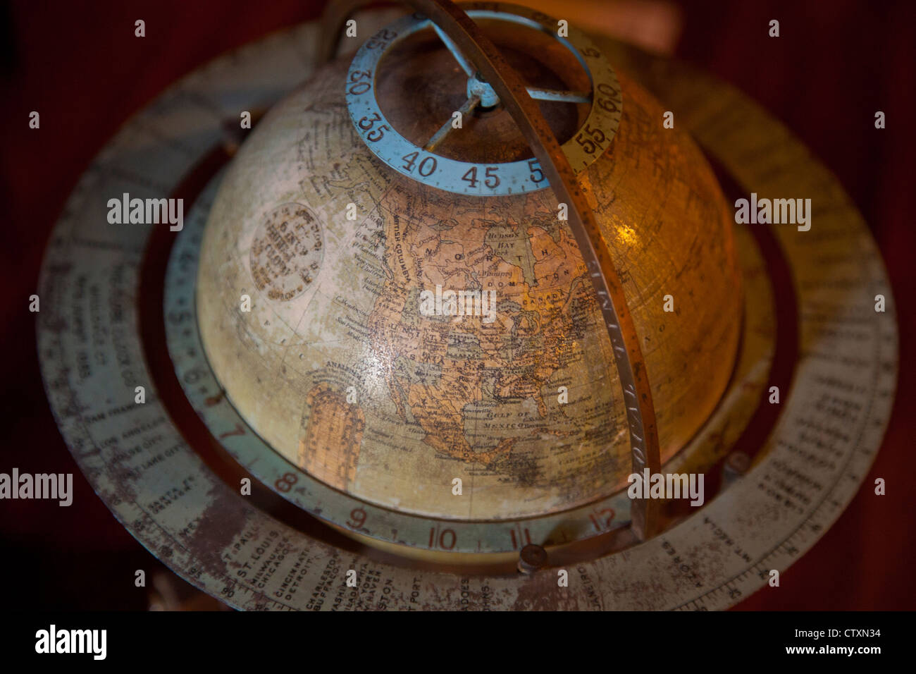 American Clock and Watch Museum in Bristol CT - Stock Image