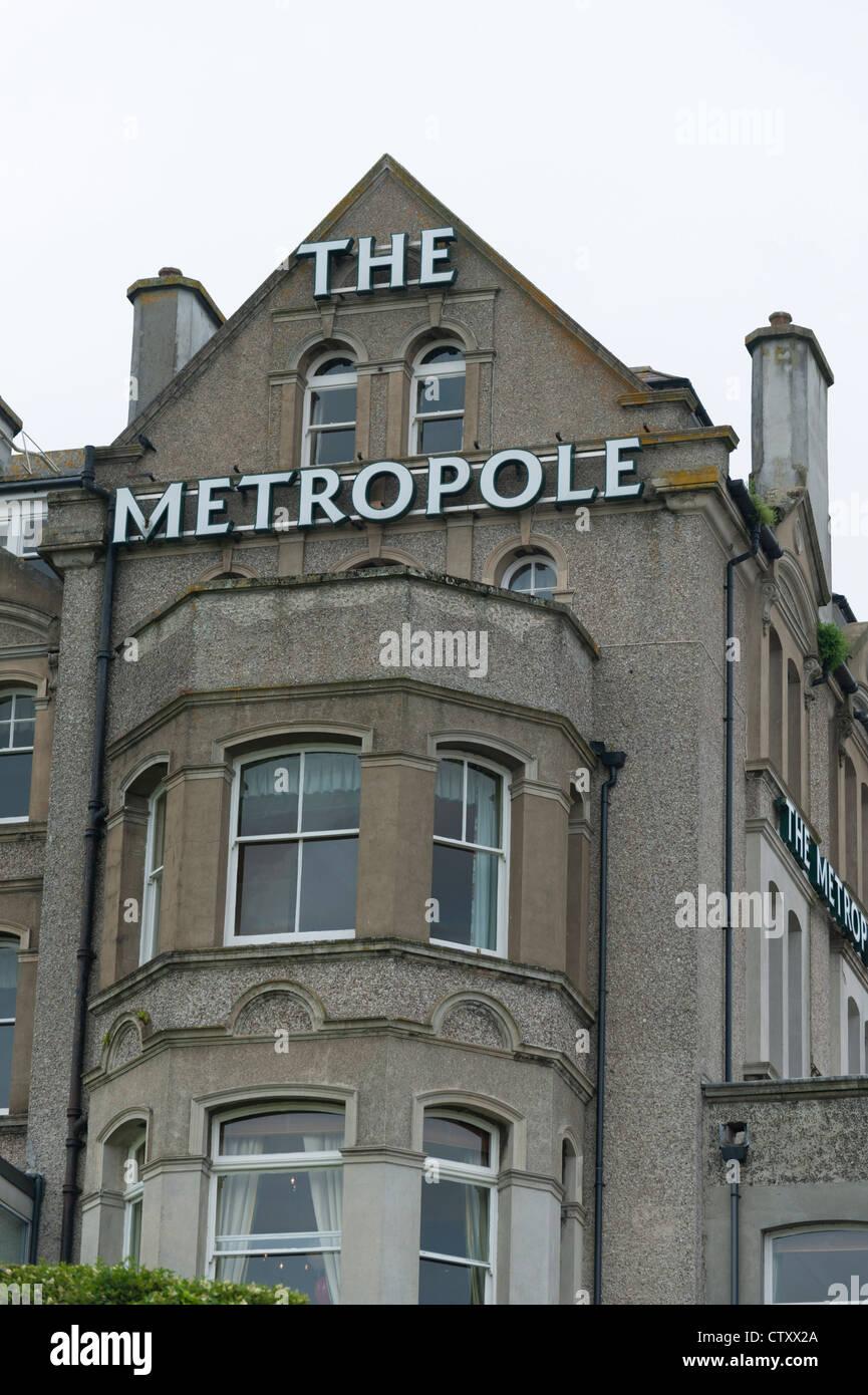 The Metropole Hotel Padstow Cornwall UK - Stock Image