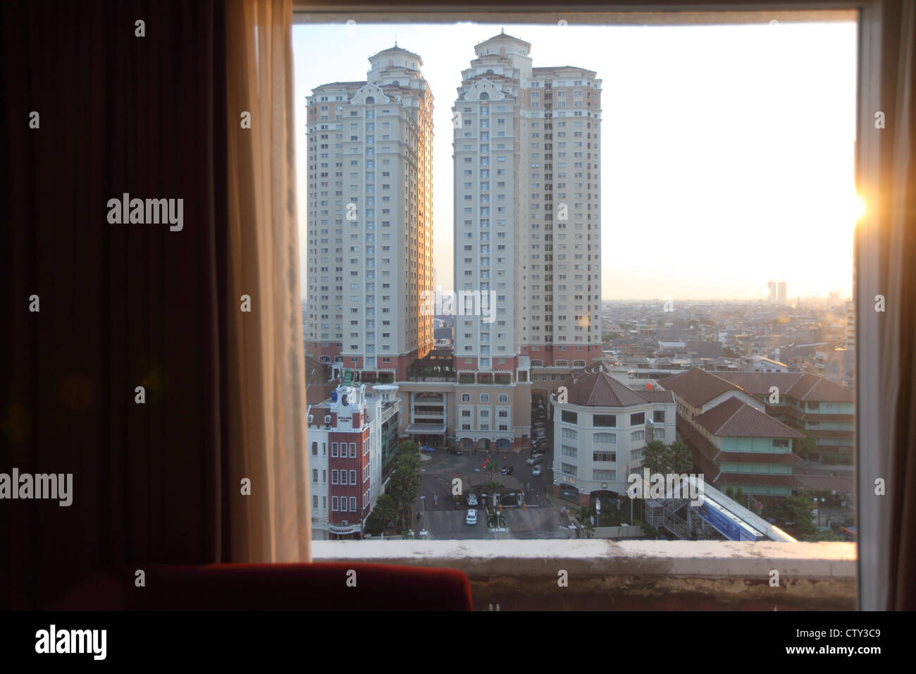 View From The Mercure Hotel Room High Resolution Stock Photography And Images Alamy