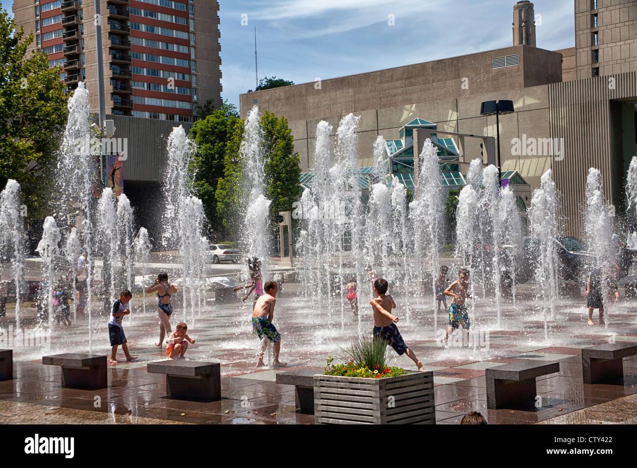Crown Center in Kansas City, MO - Stock Image