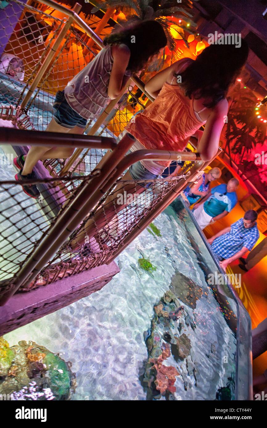 Sea Life Kansas City Aquarium Stock Photo