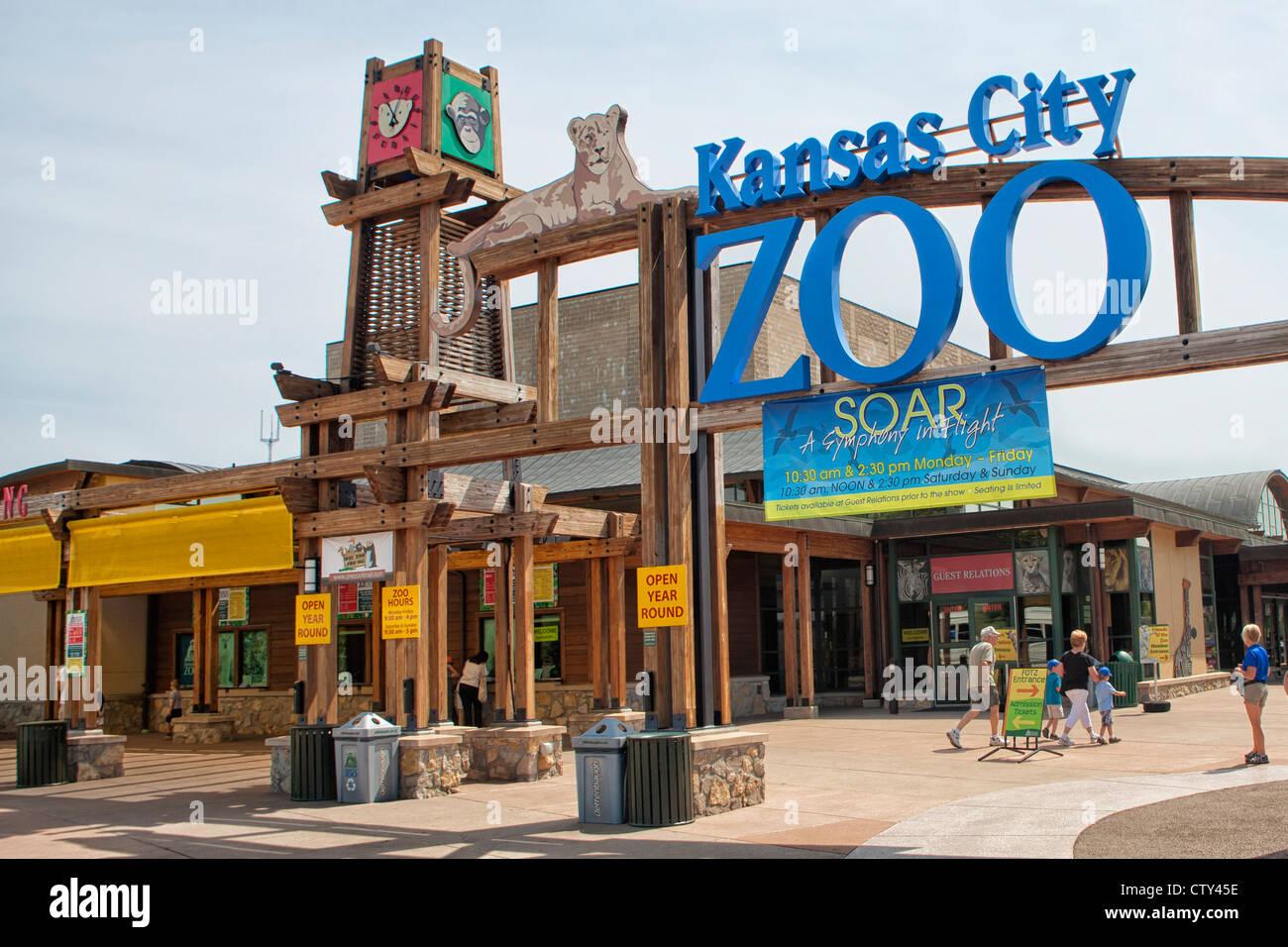 Kansas City Zoo - Stock Image