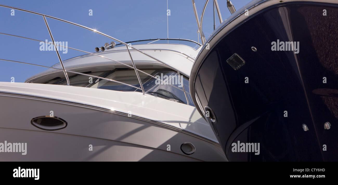 Yacht - Stock Image