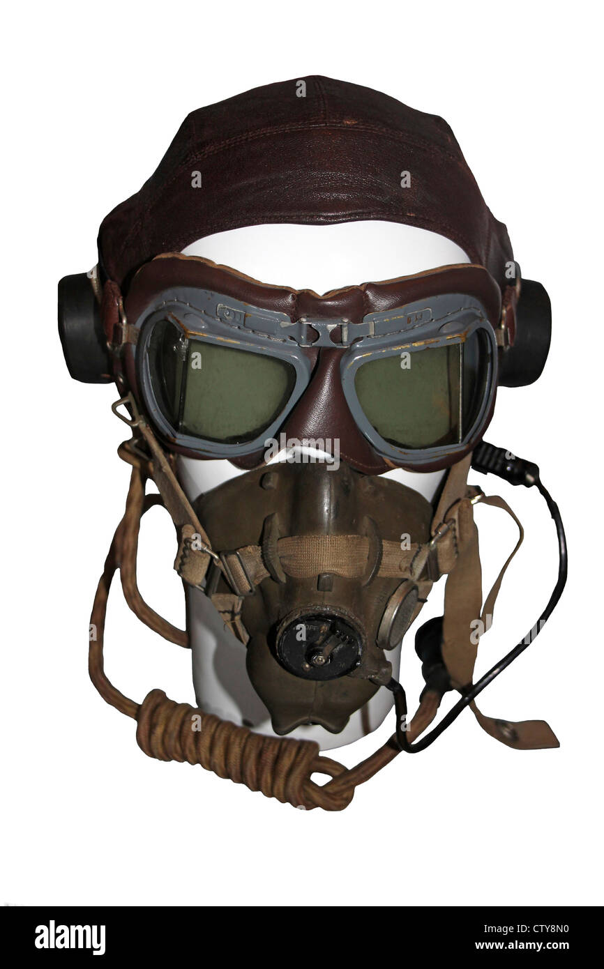 Aviator Mask Stock Photo