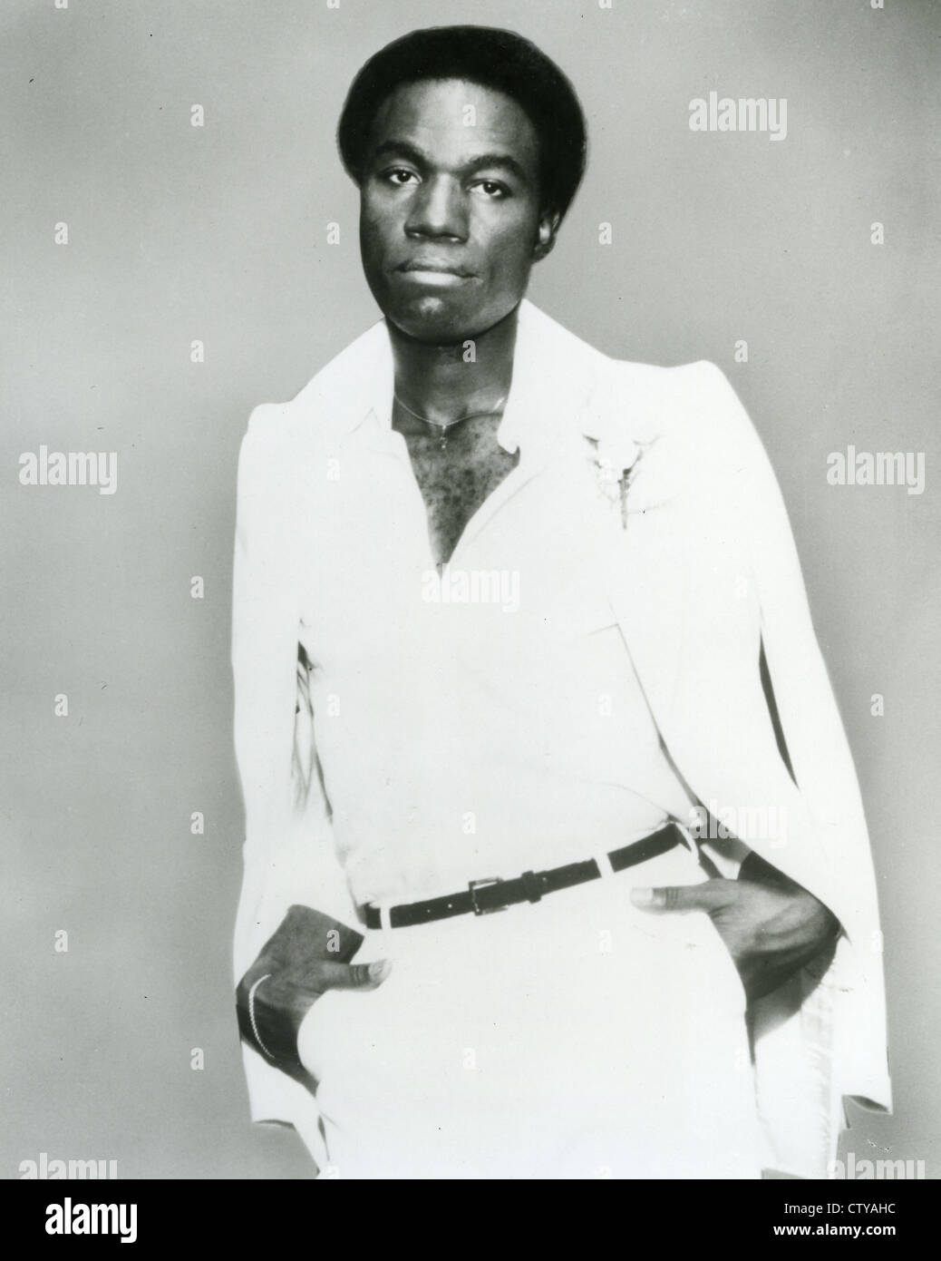CECIL PARKER  Promotional photo of US singer about 1980 - Stock Image