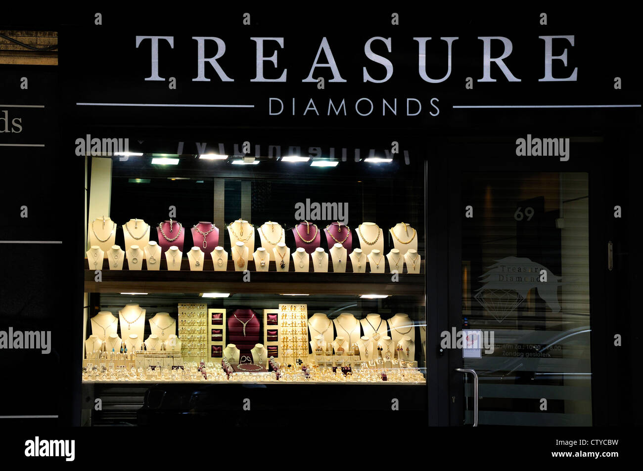 diamond photos photo brussels shop images stock image alamy