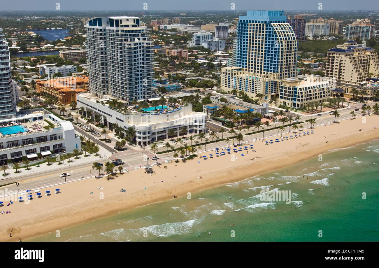 Fort Lauderdale beach Florida - Stock Image