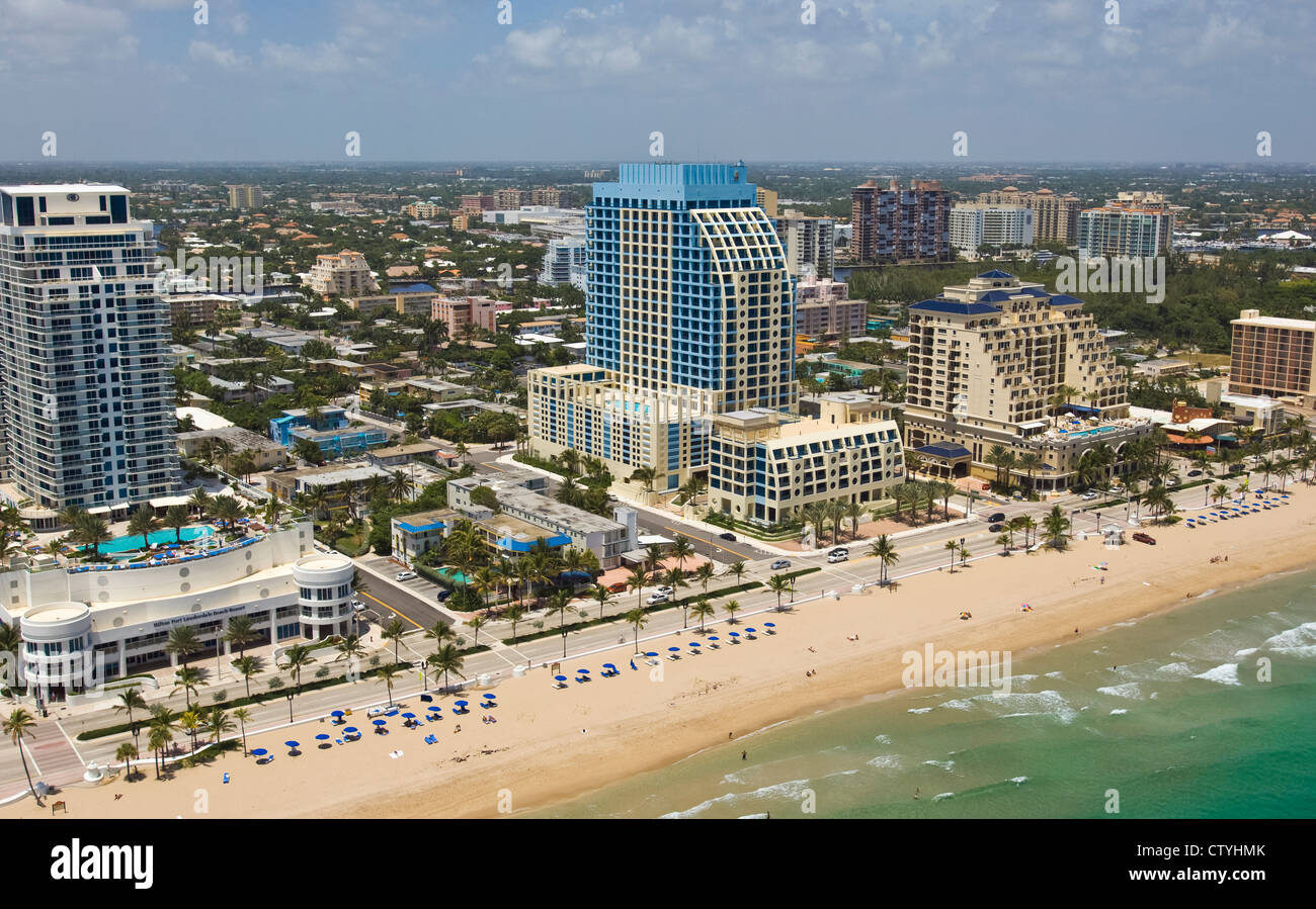 Fort Lauderdale beach Florida Stock Photo