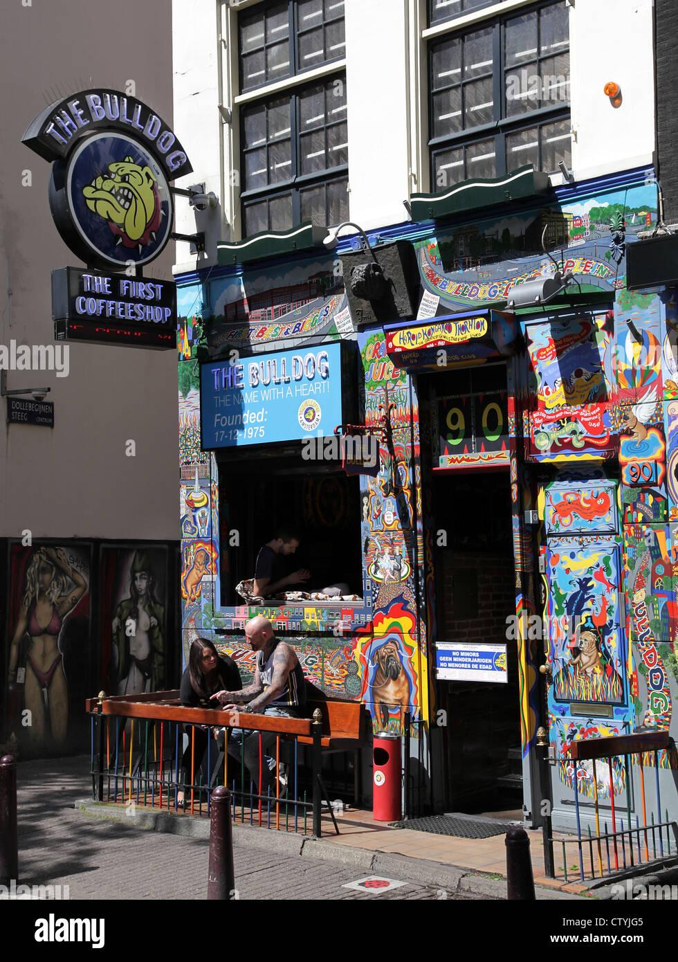 The Bulldog Amsterdam Coffeeshop Redlight Stock Photo: 49779749 - Alamy
