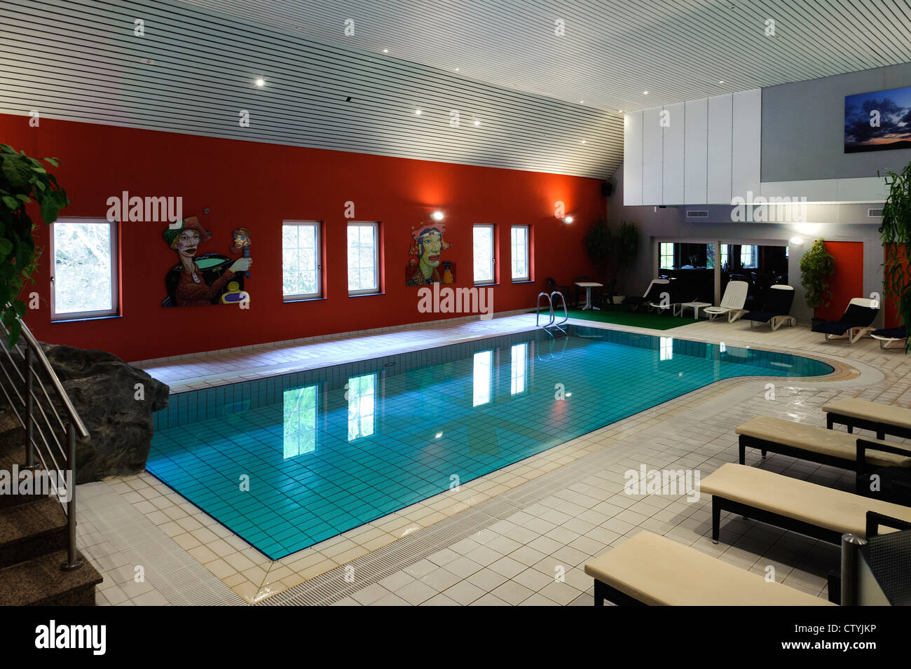 Spa Of Hotel International Le Clervaux In Clervaux Luxembourg